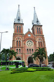Saigon Notre-Dame Basilica in Ho Chi Minh City — Stock Photo