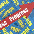 Progress arrow — Stock Photo #37890315