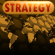 Strategy world map — Stock Photo #37895265