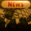 News world map — Stock Photo #37989241