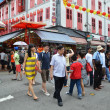Bustling street of Chinatown district in Singapore. — Stock Photo #37997067