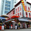 Bustling street of Chinatown district in Singapore. — Stock Photo #37997141