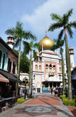 Sultan mosque Singapore — Stock Photo