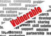 Vulnerable — Stock Photo