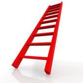 Red ladder — Stock Photo