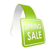 Etiqueta de primavera venta caída — Foto de Stock
