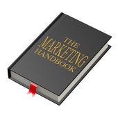 The marketing handbook — Stock Photo