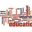 Stock Photo: Education word cloud