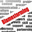 Blamestorming word cloud — Stock Photo #41430745