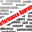 Performance appraisal word cloud — Stockfoto #41430959