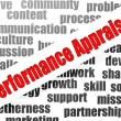 Stock Photo: Performance appraisal word cloud