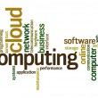 Cloud computing word cloud — Stock Photo #41489957