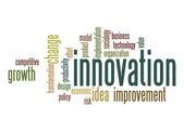 Innovation word cloud — Stock Photo
