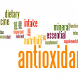 Stock Photo: Antioxidant word cloud