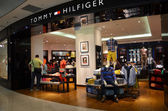 Tommy Hilfiger shop in Singapore — Stock Photo