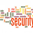 Security word cloud — Stock Photo