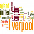 Stock Photo: Liverpool word cloud