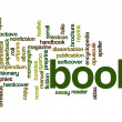 Book word cloud — Stock Photo #42461469