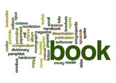 Book word cloud — Stock fotografie