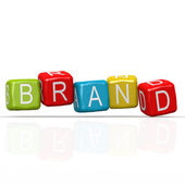 Brand buzzword — Stock Photo