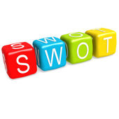 SWOT buzzword — Stock Photo