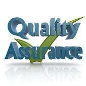 Tick quality assurance — Stock Photo
