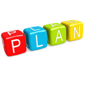 Plan buzzword — Stock Photo