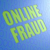 Online fraud — Stock fotografie
