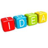 Idea buzzword — Stock Photo