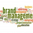 Brand managemen word cloud — Stock Photo #46543223