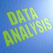 Data analysis — Stock Photo