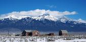 Urban view of Colorado in winter — Foto de Stock