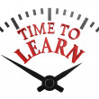Time to learn clock   — Stok fotoğraf #47829775