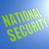 National security — Stock Photo