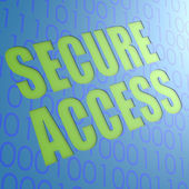 Secure access — Stock Photo