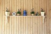 Półki kuchenne — Zdjęcie stockowe
