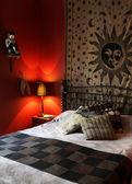 Elegant bedroom — Стоковое фото