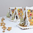 Gingerbread House avenue — Stock Photo #34480583