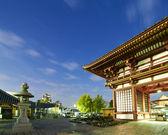 Templo de shitennoji — Foto Stock