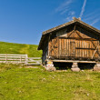 Fienile in Alto Adige sopra Avelengo — Stock Photo