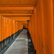 Stock Photo: Fushimi Inari Shrine