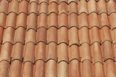 Tiles on the top of an house — Stock Photo
