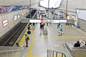 Umeda station of Osaka subway — Stock Photo