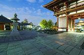 The Shitennoji temple entrance in Osaka — Stock Photo
