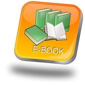 E-Book Button — 图库照片