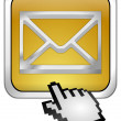 E-Mail Button with Cursor — Stock Photo #15692783