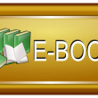 Stock Photo: E-Book Button
