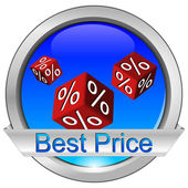 Button Best Price — Stock Photo