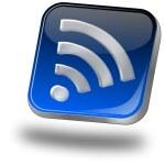 Wireless WiFi Wlan button — Stock Photo #22346815
