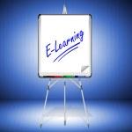 Flipchart E-Learning — Stock Photo #22484241